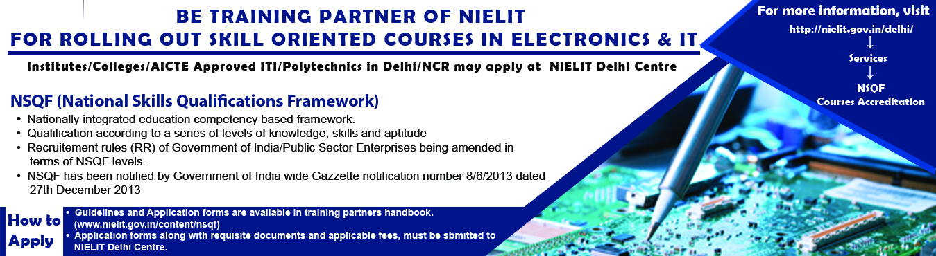 Government of India : National Institute of Electronics