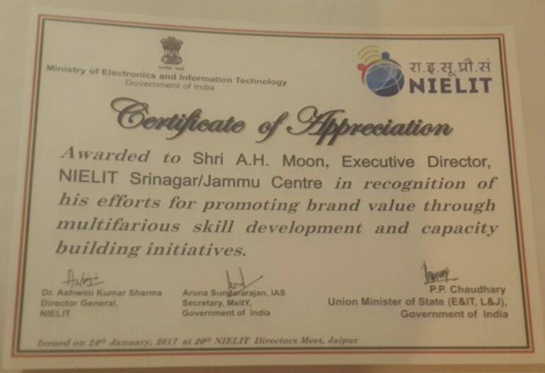 Government of India : National Institute of Electronics ...